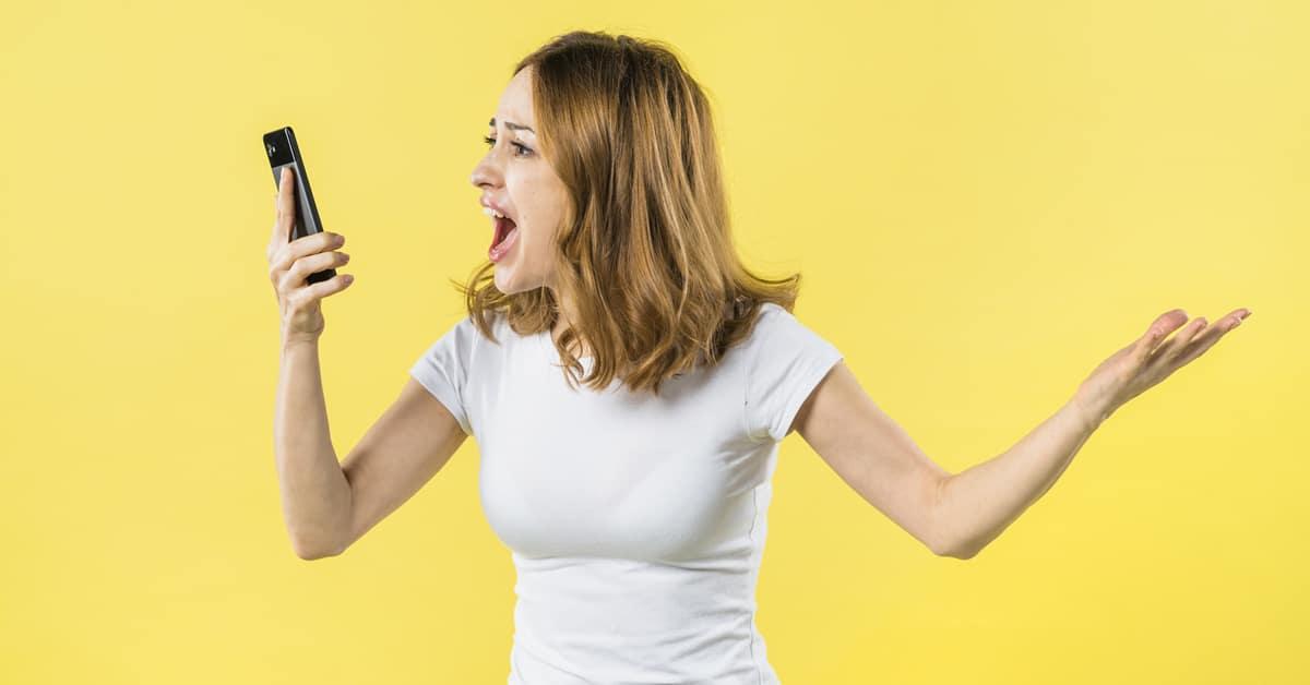 boze telefoons klanten opvangen